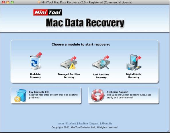 Samsung photo recovery in Mac – MiniTool Mac Data Recovery