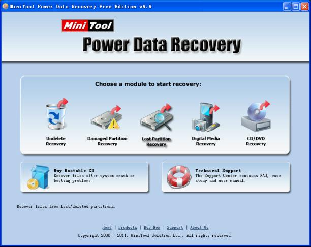 Free recover lost photos within 1 GB, MiniTool Power Data